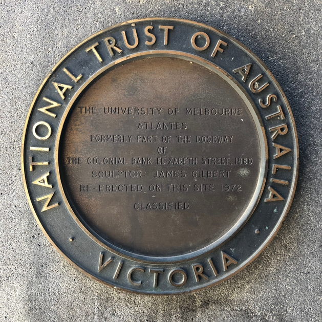 Photo of a seal of the National Trust of Australia - Victoria